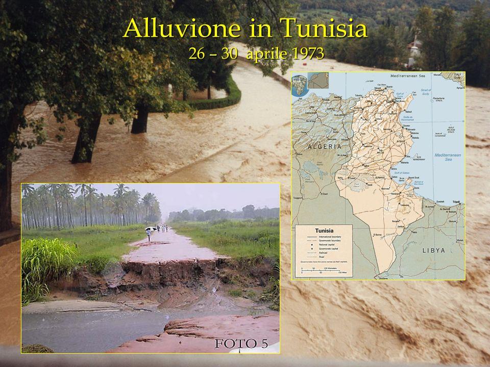Alluvione in Tunisia 26 – 30 aprile 1973
