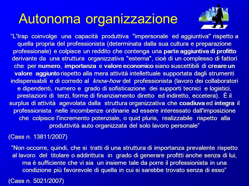 Autonoma organizzazione