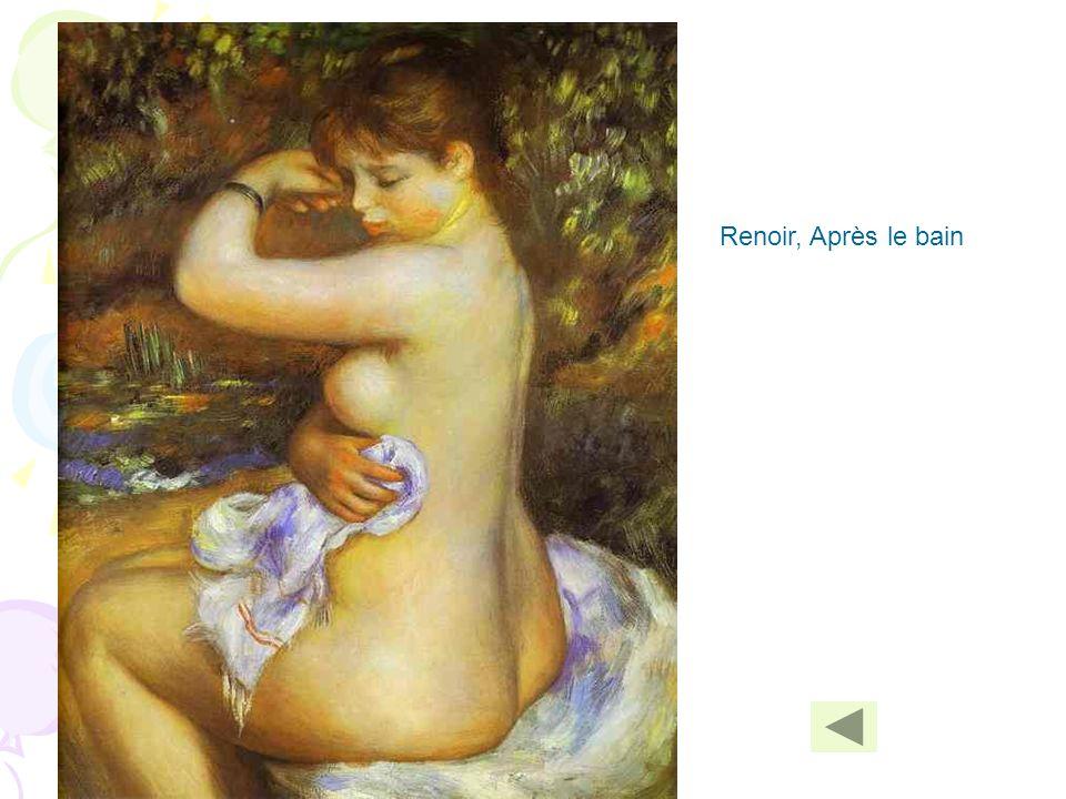 Renoir, Après le bain