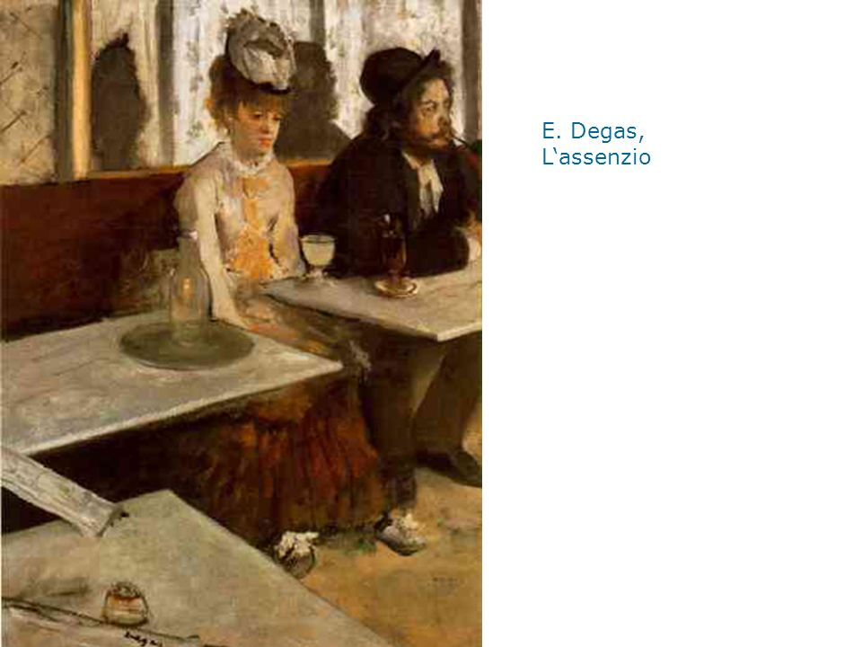 E. Degas, L'assenzio