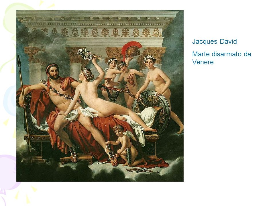 Jacques David Marte disarmato da Venere