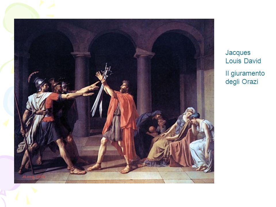 Jacques Louis David Il giuramento degli Orazi