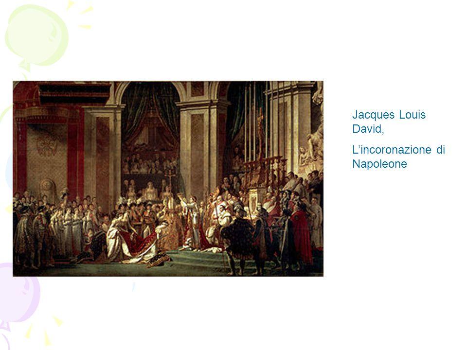 Jacques Louis David, L'incoronazione di Napoleone