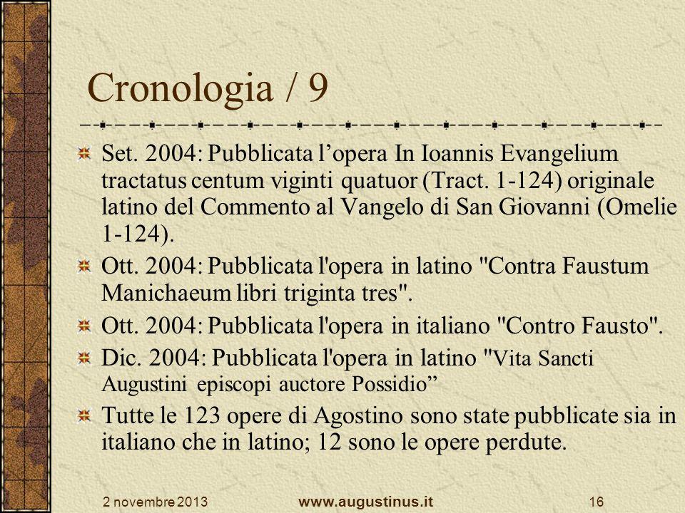 Cronologia / 9