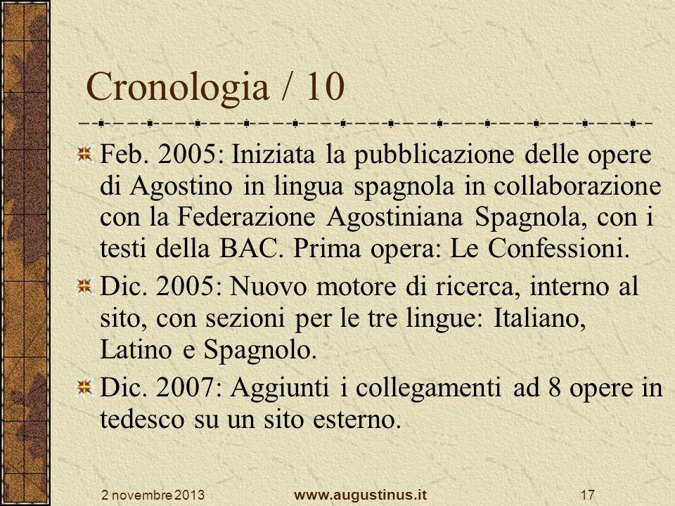 Cronologia / 10
