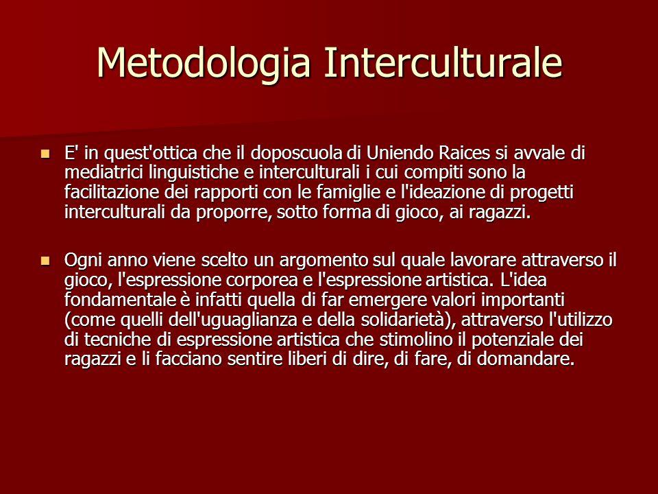 Metodologia Interculturale