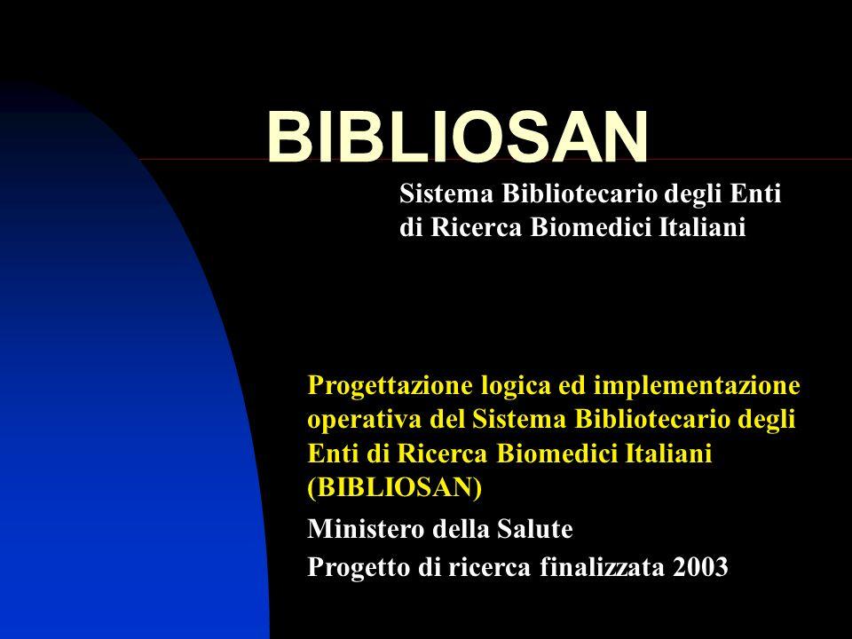 Sistema Bibliotecario degli Enti di Ricerca Biomedici Italiani