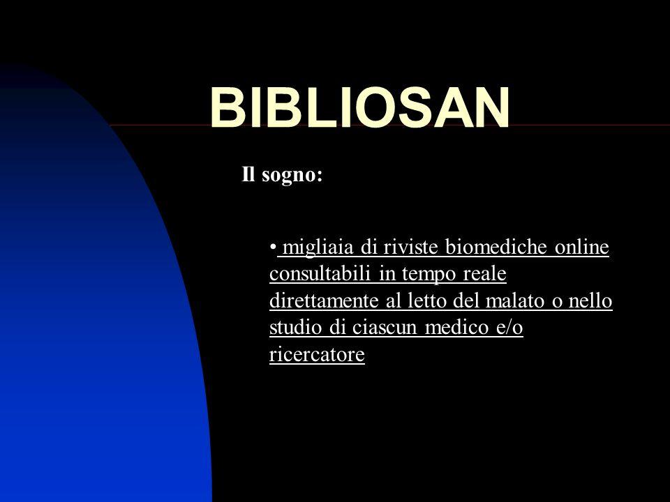 BIBLIOSANIl sogno:
