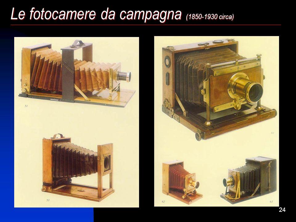 Le fotocamere da campagna (1850-1930 circa)