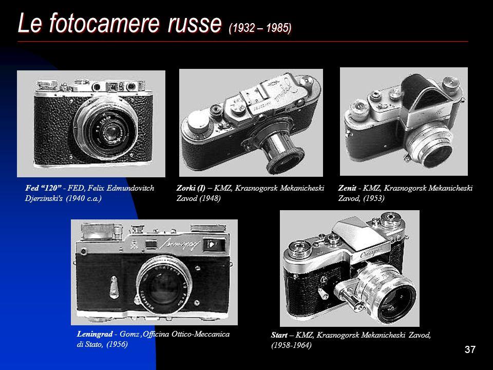 Le fotocamere russe (1932 – 1985)