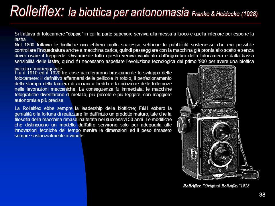 Rolleiflex: la biottica per antonomasia Franke & Heidecke (1928)