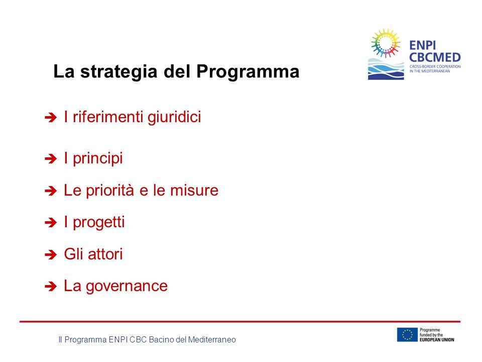 La strategia del Programma