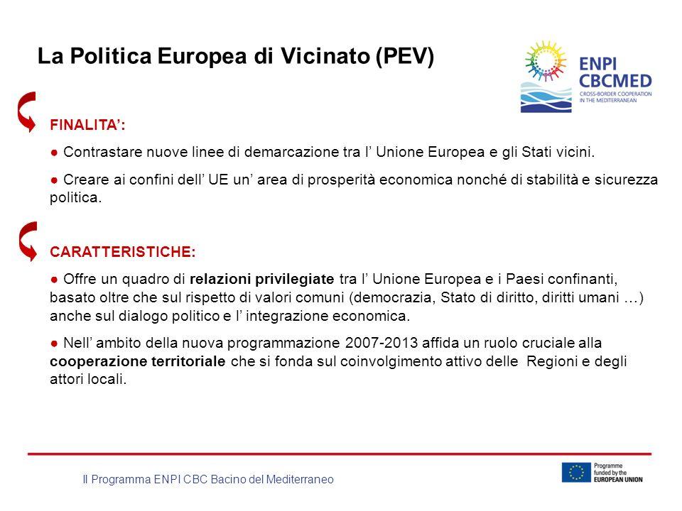 La Politica Europea di Vicinato (PEV)
