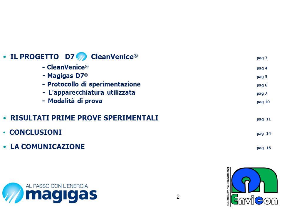 IL PROGETTO D7 CleanVenice® pag 3 - CleanVenice® pag 4