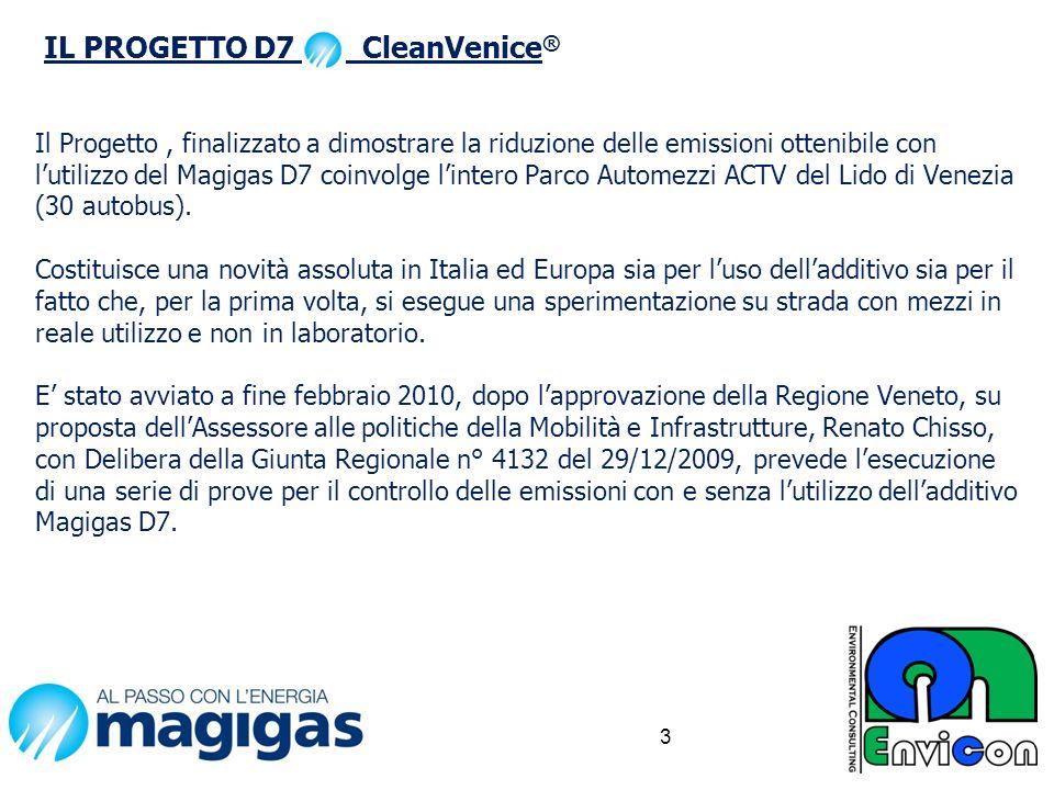 IL PROGETTO D7 CleanVenice®