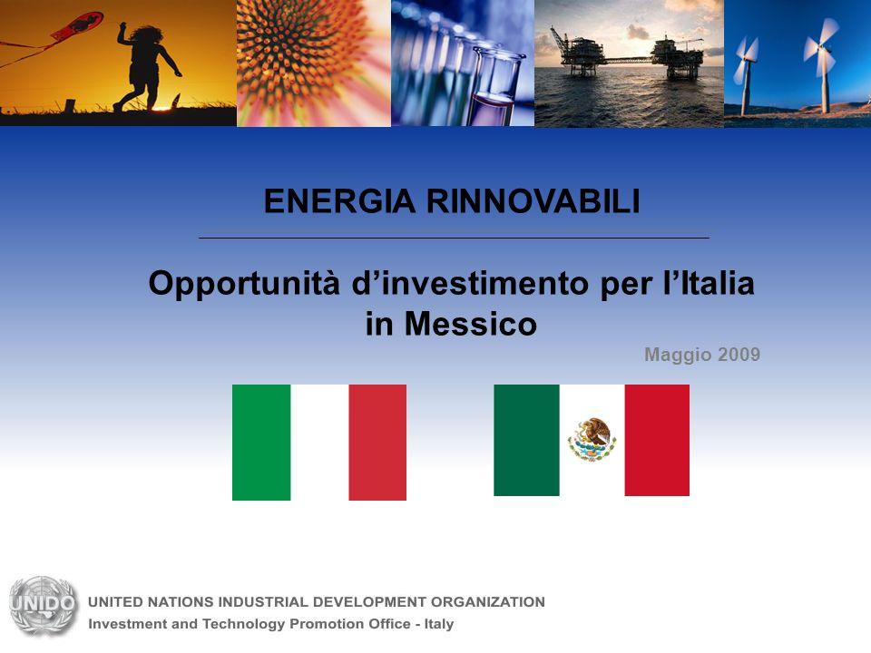 Opportunità d'investimento per l'Italia in Messico