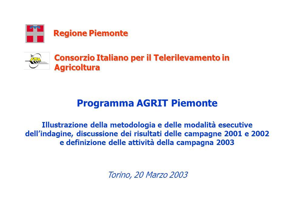 Programma AGRIT Piemonte