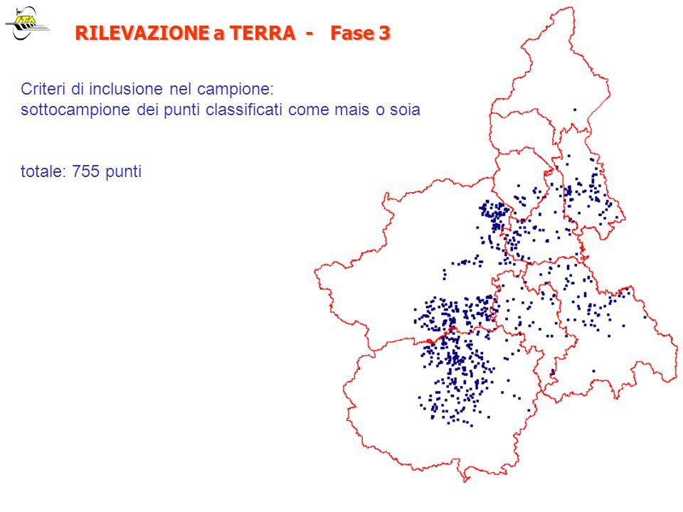 RILEVAZIONE a TERRA - Fase 3