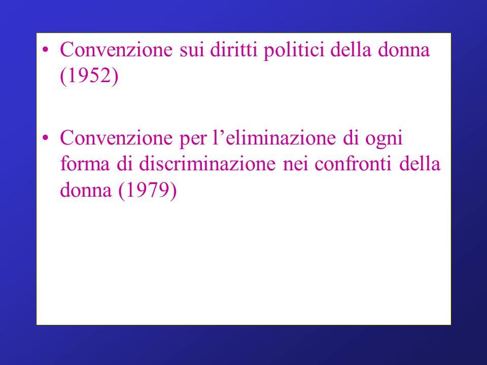 Convenzione sui diritti politici della donna (1952)