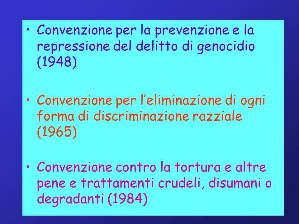 Convenzione per la prevenzione e la repressione del delitto di genocidio (1948)