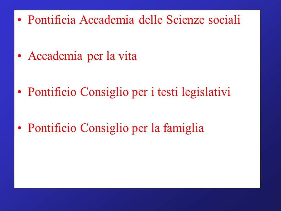 Pontificia Accademia delle Scienze sociali