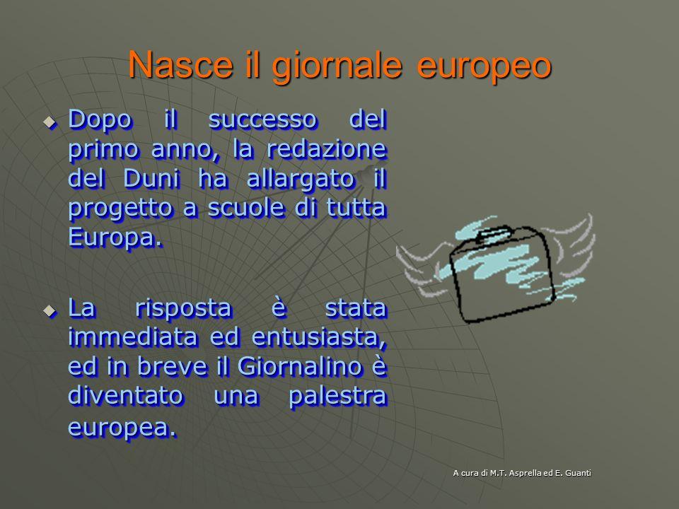 Nasce il giornale europeo