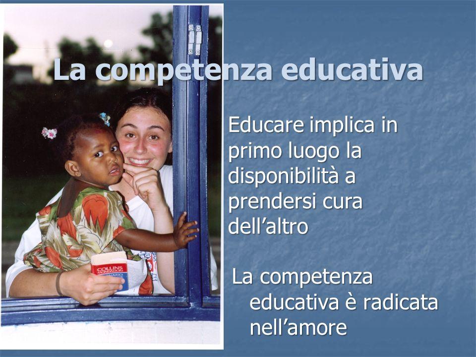La competenza educativa