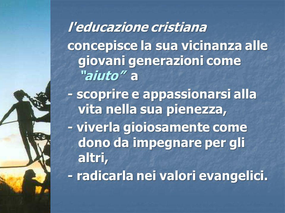 l educazione cristiana