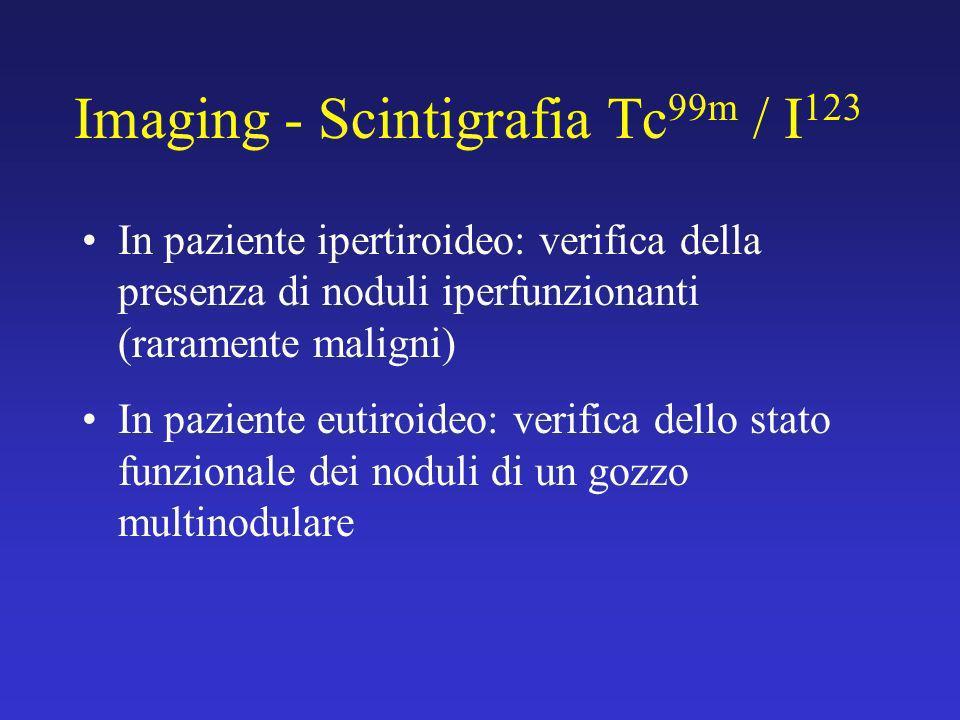 Imaging - Scintigrafia Tc99m / I123