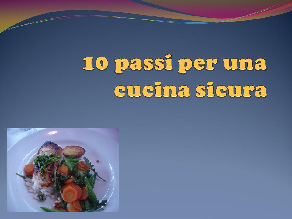 10 passi per una cucina sicura