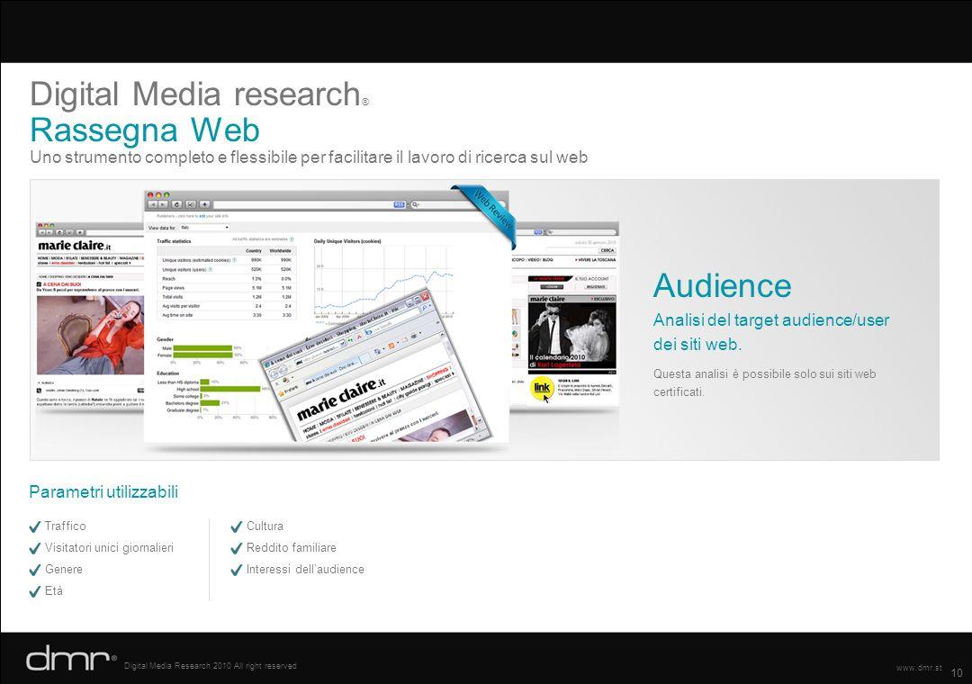 Digital Media research® Rassegna Web