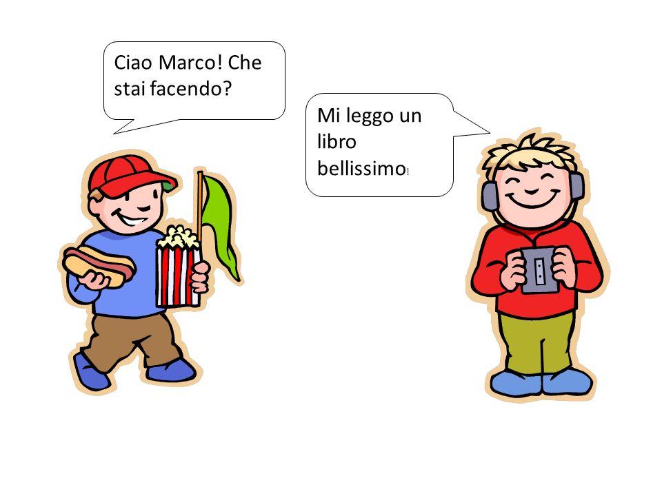 Ciao Marco! Che stai facendo