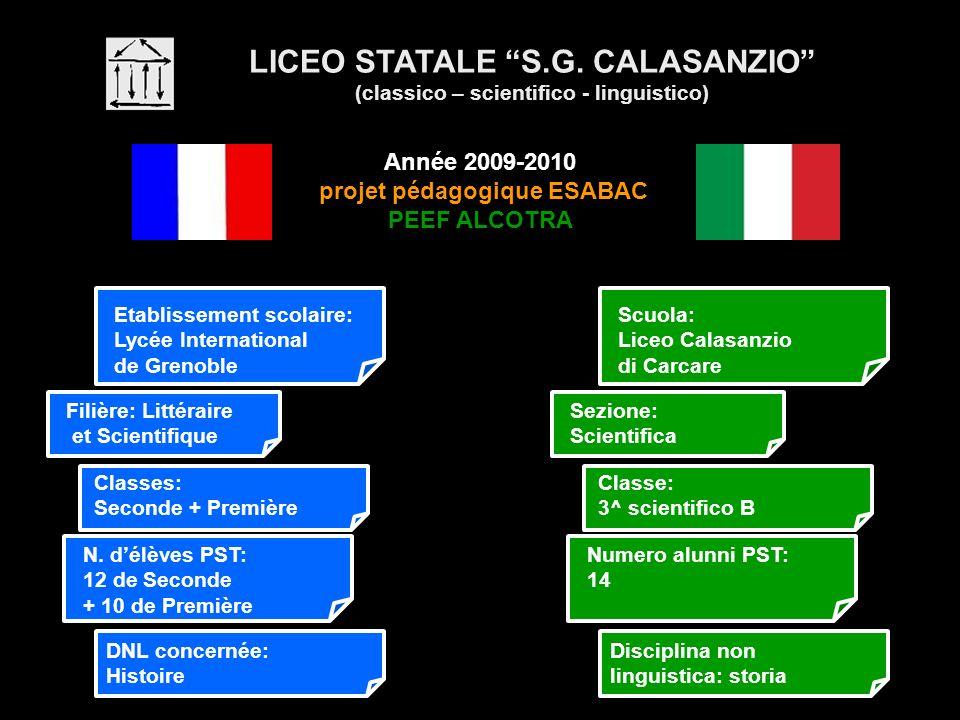 LICEO STATALE S.G. CALASANZIO