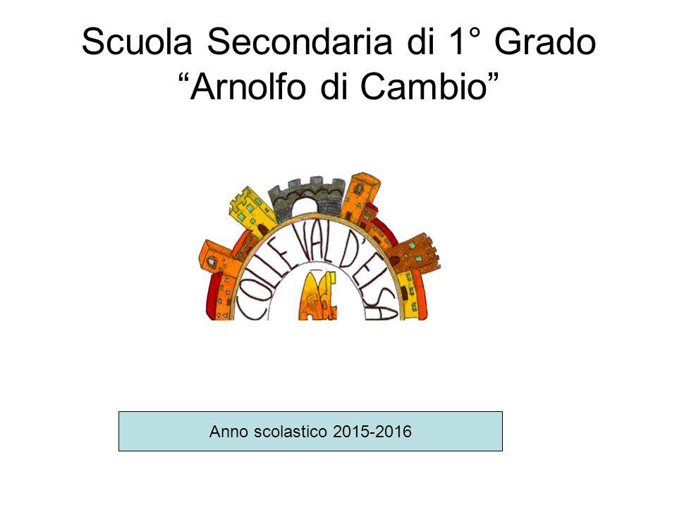 Scuola Secondaria di 1° Grado Arnolfo di Cambio