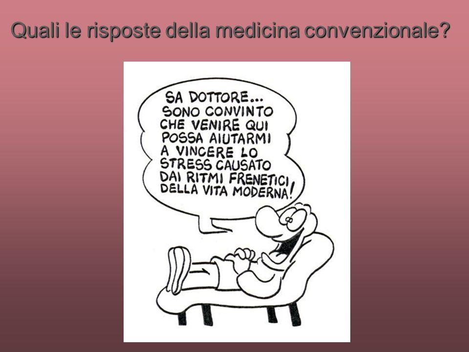 Quali le risposte della medicina convenzionale