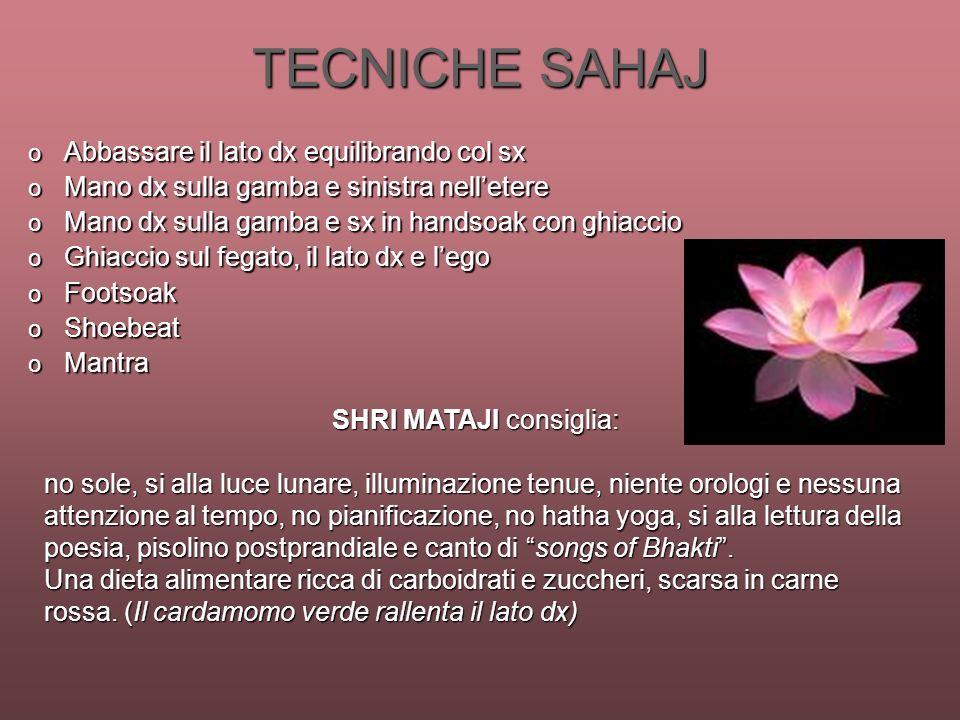 SHRI MATAJI consiglia: