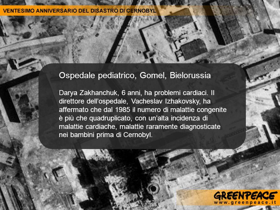 Ospedale pediatrico, Gomel, Bielorussia