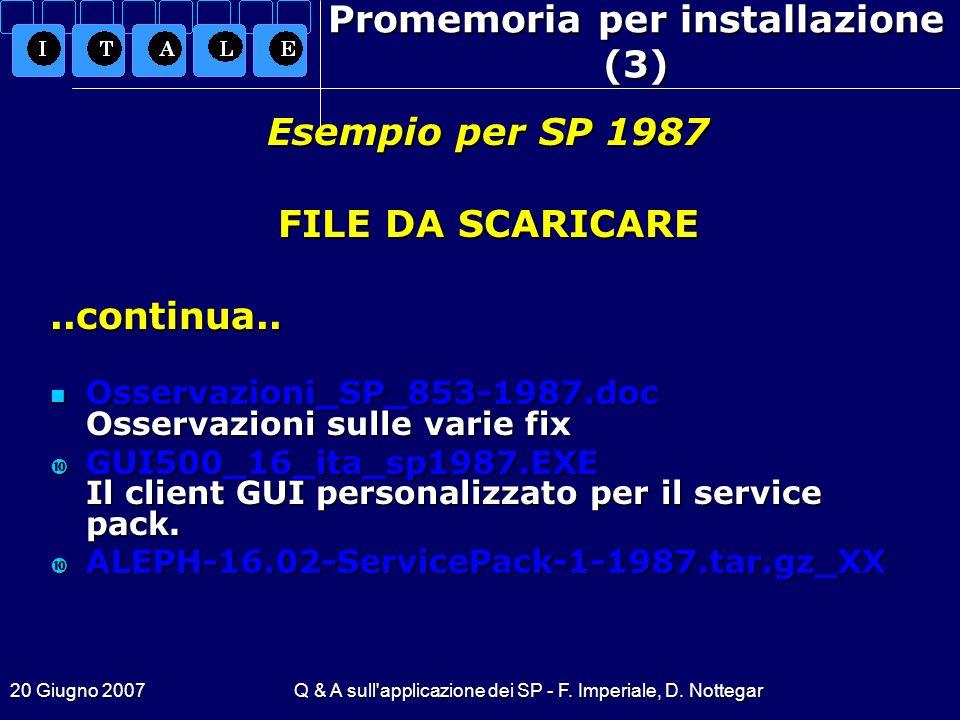 Promemoria per installazione (3)