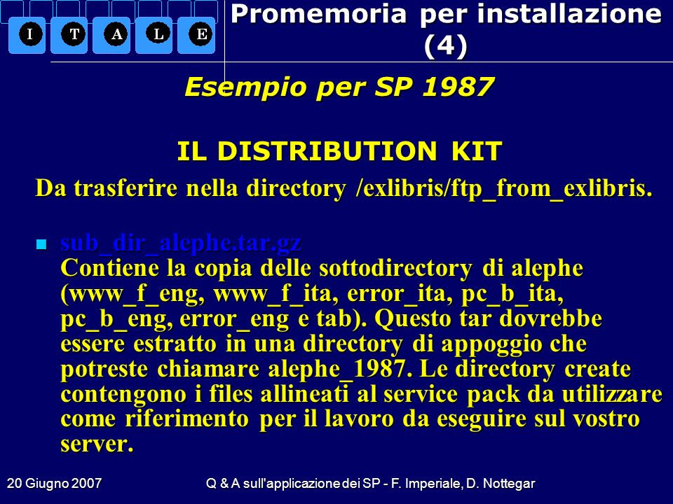 Promemoria per installazione (4)