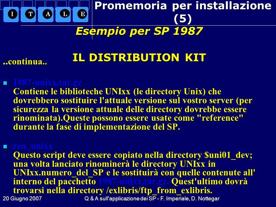 Promemoria per installazione (5)
