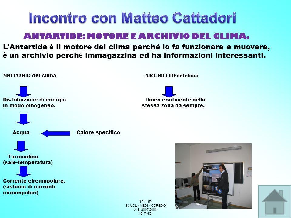 Incontro con Matteo Cattadori