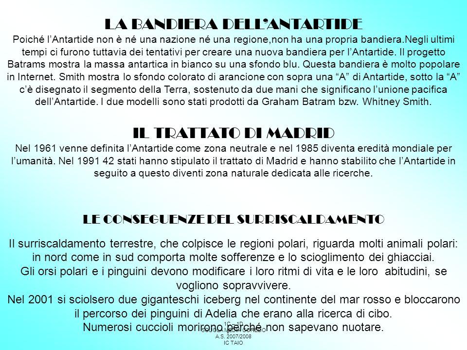 LA BANDIERA DELL'ANTARTIDE