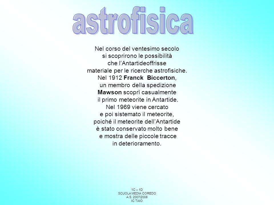 astrofisica Nel corso del ventesimo secolo