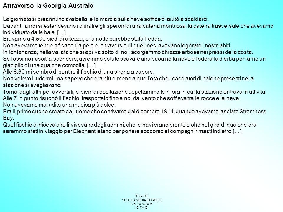 Attraverso la Georgia Australe