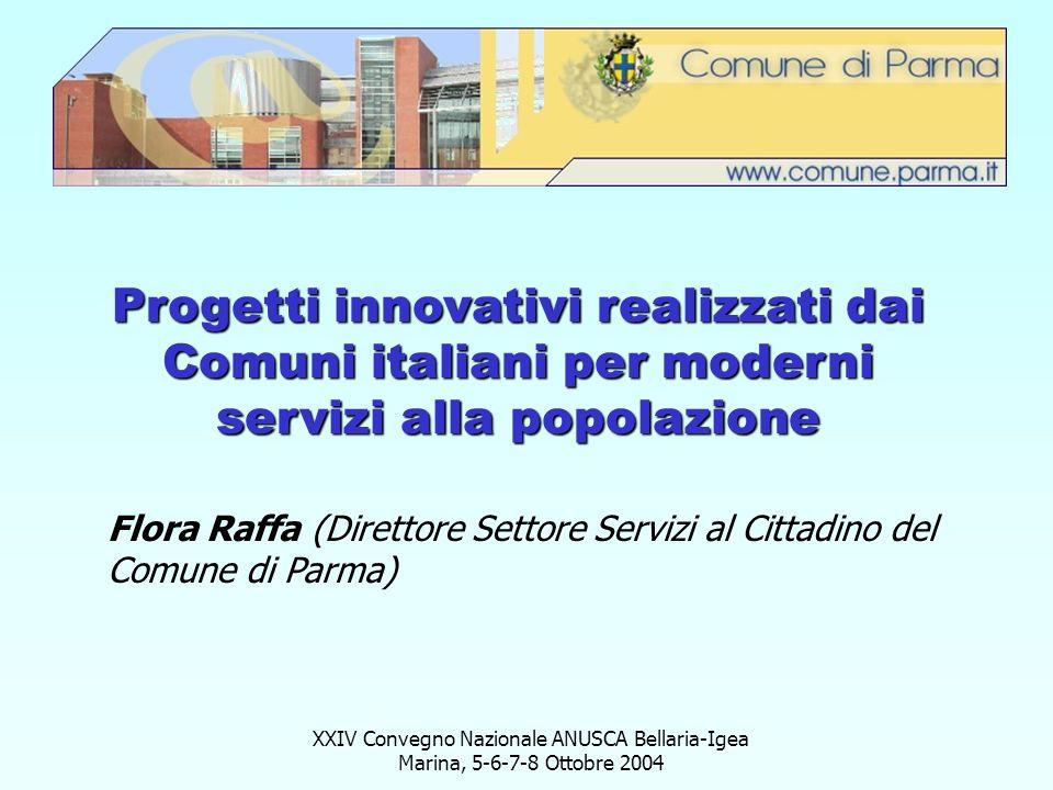 Progetti innovativi realizzati dai Comuni italiani per moderni servizi alla popolazione