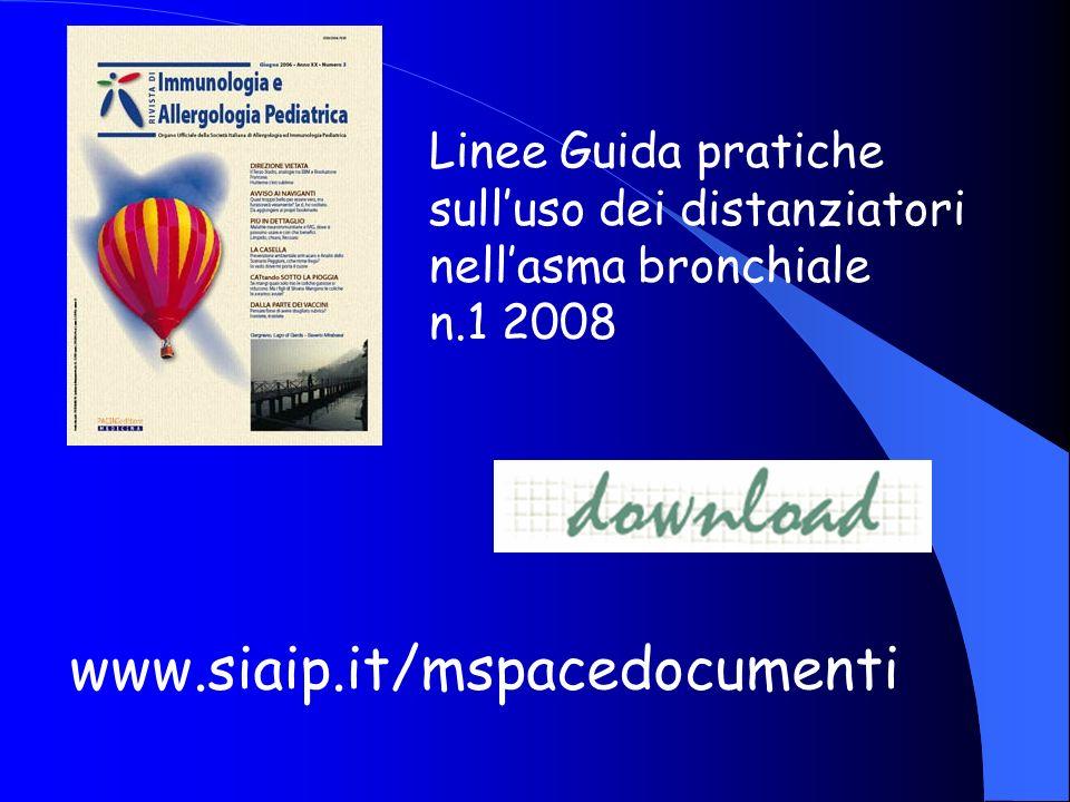 www.siaip.it/mspacedocumenti Linee Guida pratiche