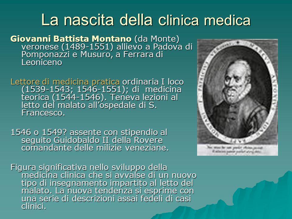 La nascita della clinica medica