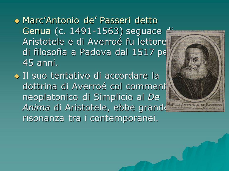 Marc'Antonio de' Passeri detto Genua (c