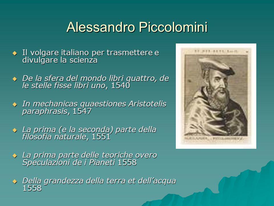 Alessandro Piccolomini