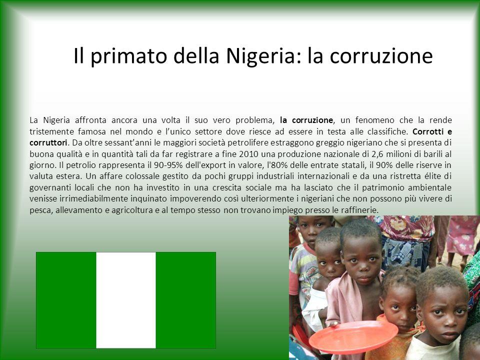 Il primato della Nigeria: la corruzione